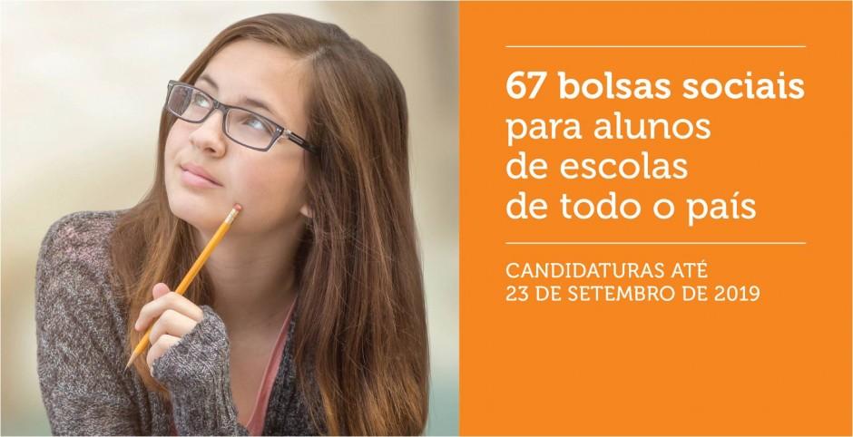Todas as escolas, entidades sociais e alunos de Portugal se podem candidatar